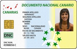 DNC . Documento Nacional Canario