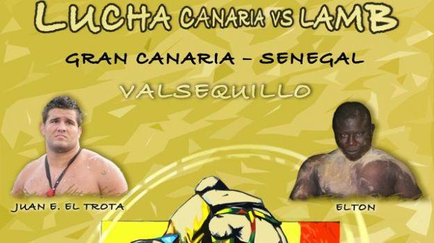 Encuentro Lucha Canaria vs Lucha Lamb (www.tintaamarilla.es)